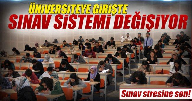 Üniversiteye giriş için yen sınav sistemi geliyor