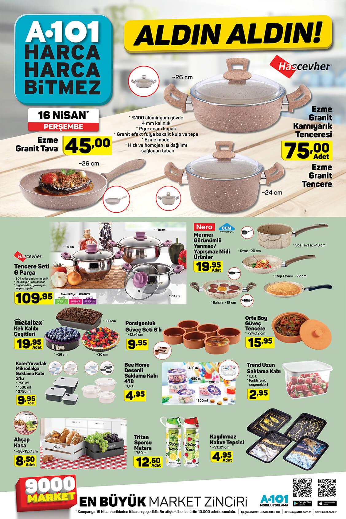 A101 16 Nisan 2020 İndirimli Ürünler - 5.Sayfa