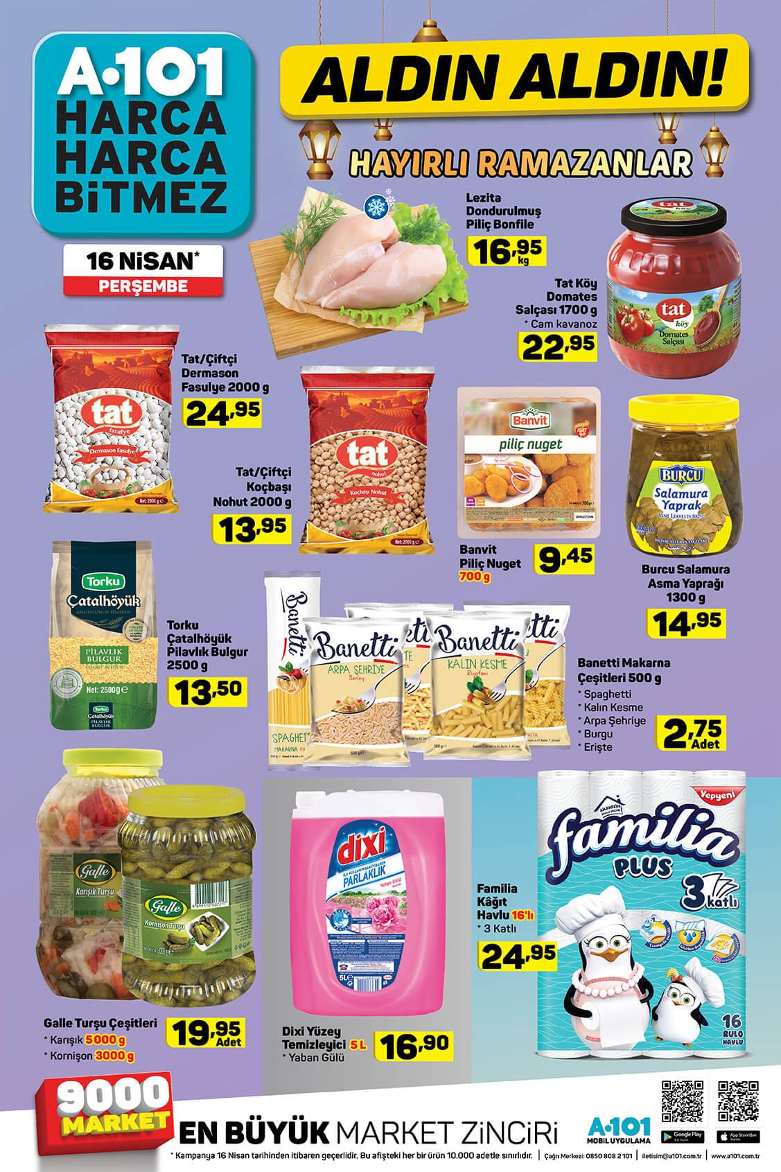 A101 16 Nisan 2020 İndirimli Ürünler - 7.Sayfa