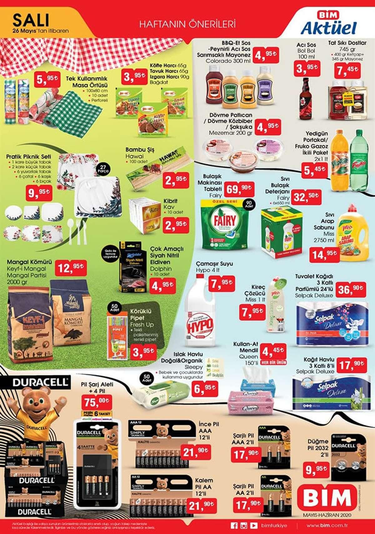 Bim Aktüel 20 Mayıs 2020 İndirimli Ürünler - 4.Sayfa