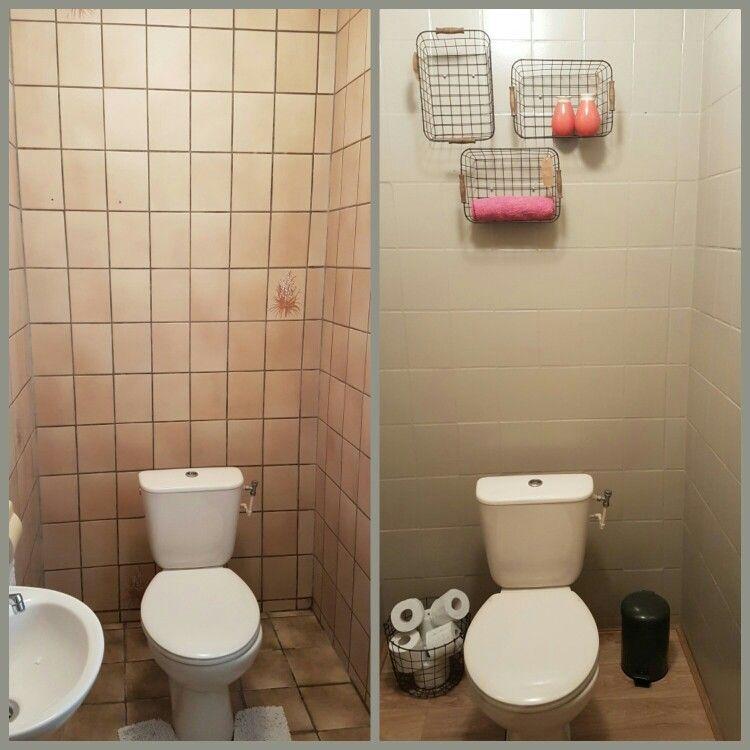 Diy (Kendin Yap) ile yapılan Tuvalet Tasarımları