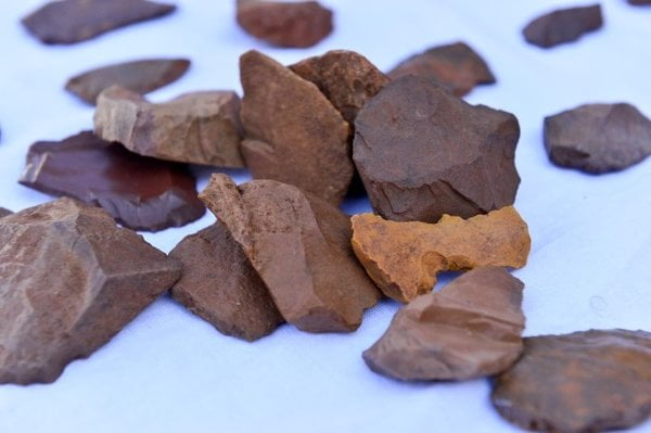 Tunceli' de taş devrine ait kalıntılar bulundu.