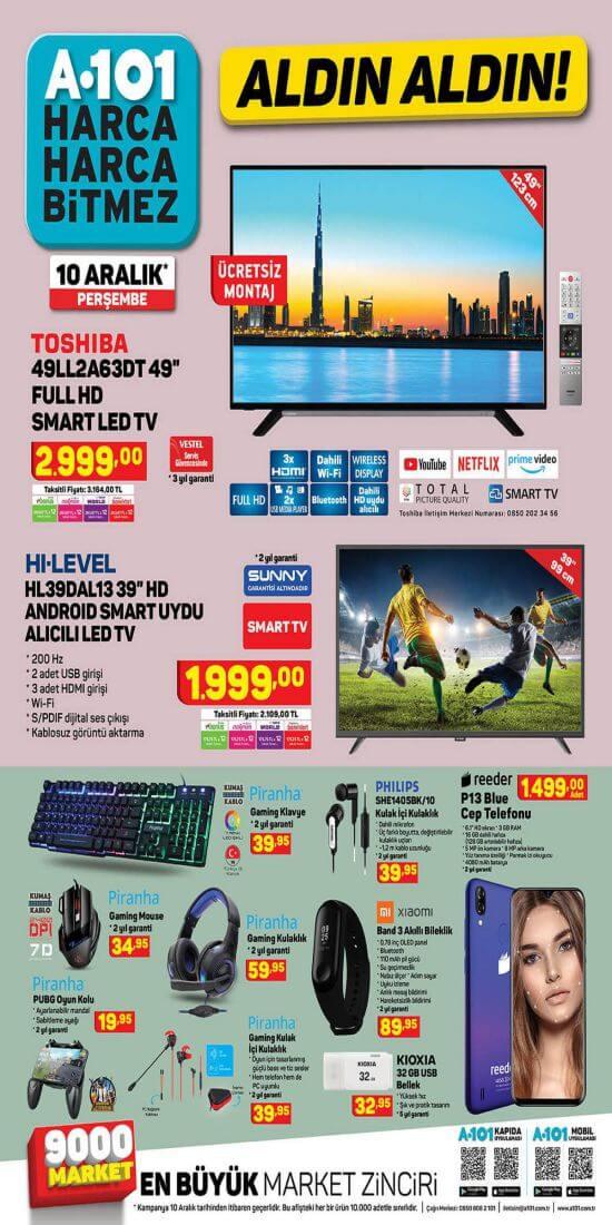 A101 10 Aralık 2020 Aktüel Ürünler 1.Sayfa