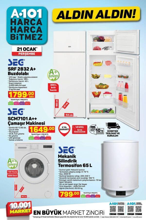 A101 21 Ocak 2021 Aktüel Ürünler - 2.Sayfa