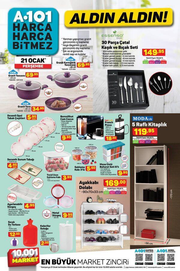 A101 21 Ocak 2021 Aktüel Ürünler - 6.Sayfa