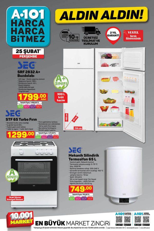 A101 25 Şubat 2021 İndirimli Ürünler Kataloğu - 2.Sayfa