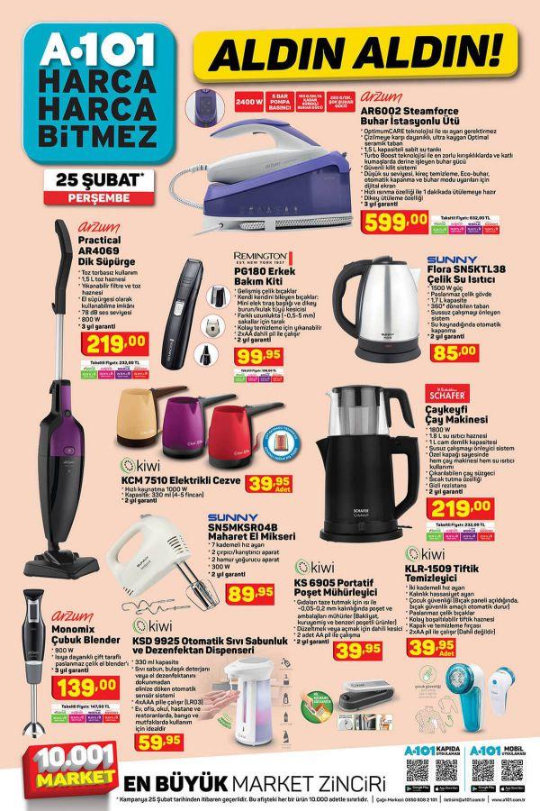 A101 25 Şubat 2021 İndirimli Ürünler Kataloğu - 3.Sayfa