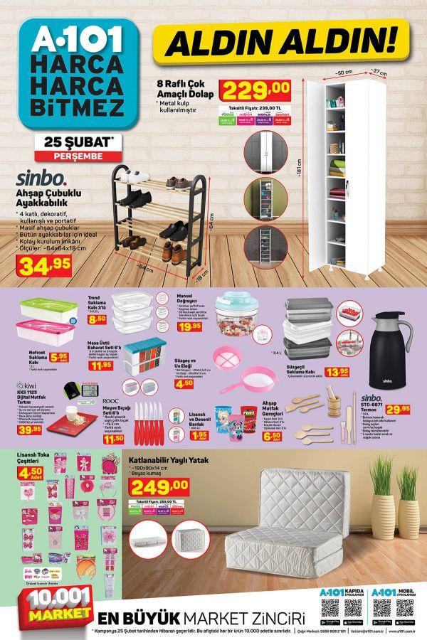 A101 25 Şubat 2021 İndirimli Ürünler Kataloğu - 4.Sayfa