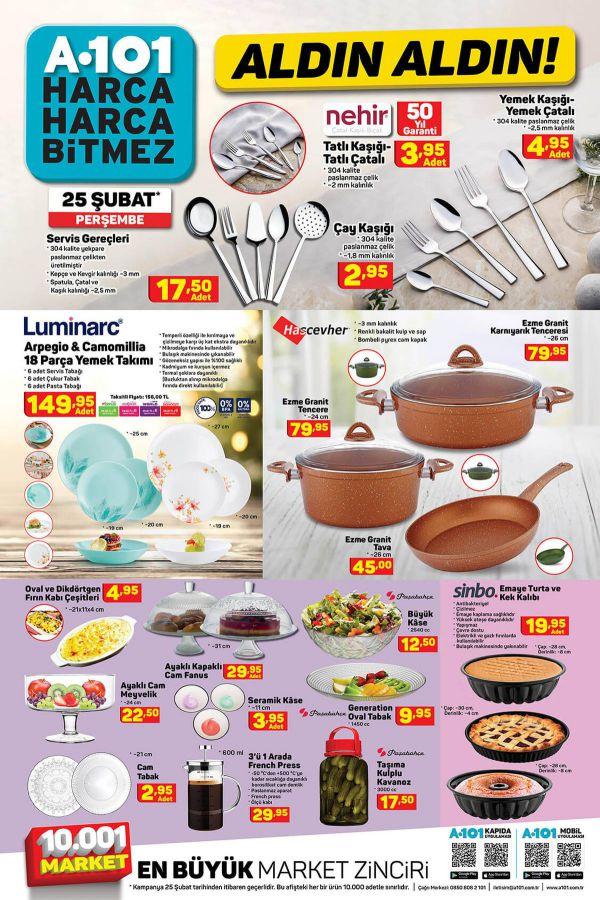A101 25 Şubat 2021 İndirimli Ürünler Kataloğu - 5.Sayfa