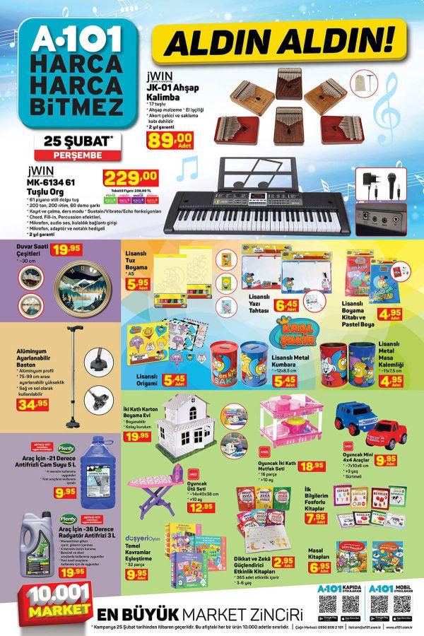 A101 25 Şubat 2021 İndirimli Ürünler Kataloğu - 6.Sayfa