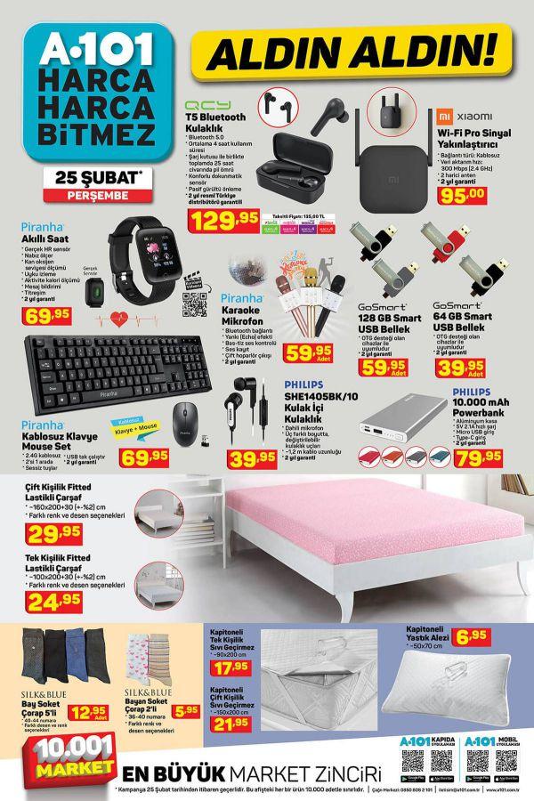 A101 25 Şubat 2021 İndirimli Ürünler Kataloğu - 7.Sayfa