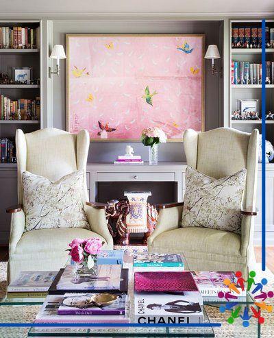 Renkli Oturma Odası Koltukları - 4
