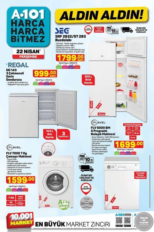 A101 22 Nisan 2021 Aktüel Ürünler Kataloğu - 2.Sayfa