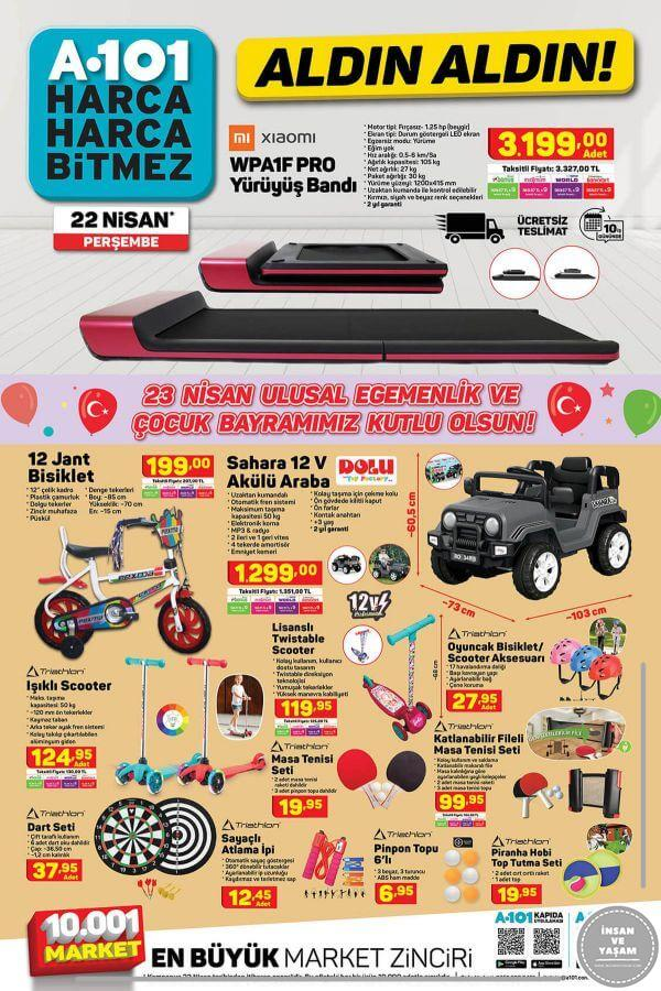 A101 22 Nisan 2021 Aktüel Ürünler Kataloğu - 3.Sayfa