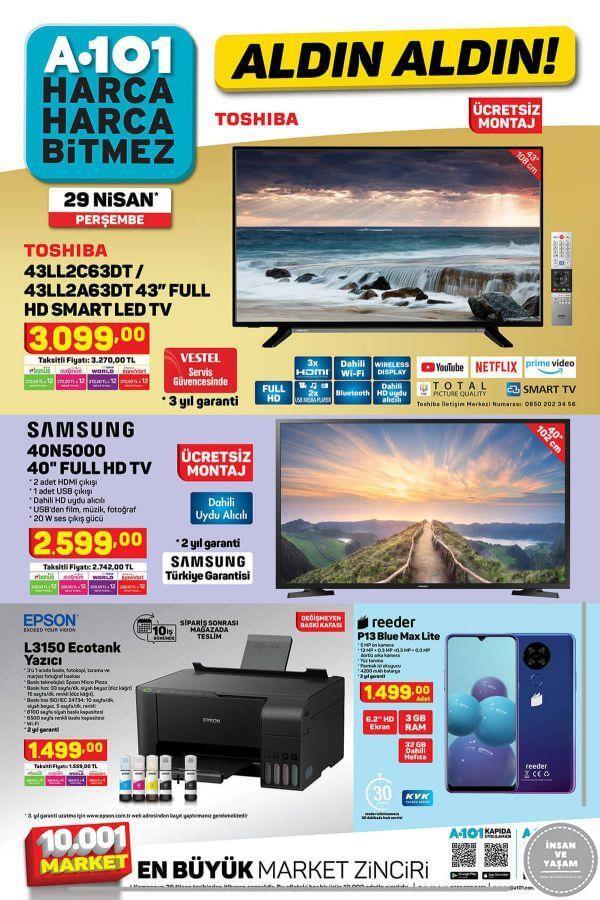 A101 29 Nisan 2021 Aktüel Ürünler Kataloğu - 1.Sayfa