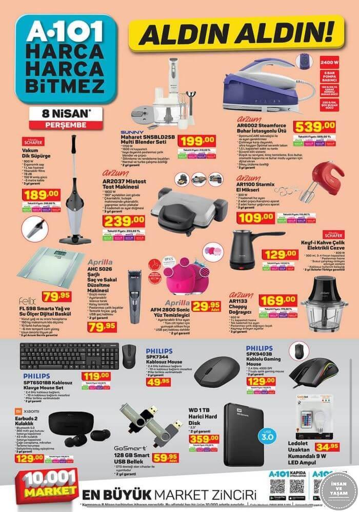A101 8 Nisan 2021 Aktüel Ürünler Kataloğu - 3.Sayfa