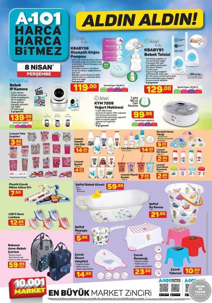 A101 8 Nisan 2021 Aktüel Ürünler Kataloğu - 5.Sayfa