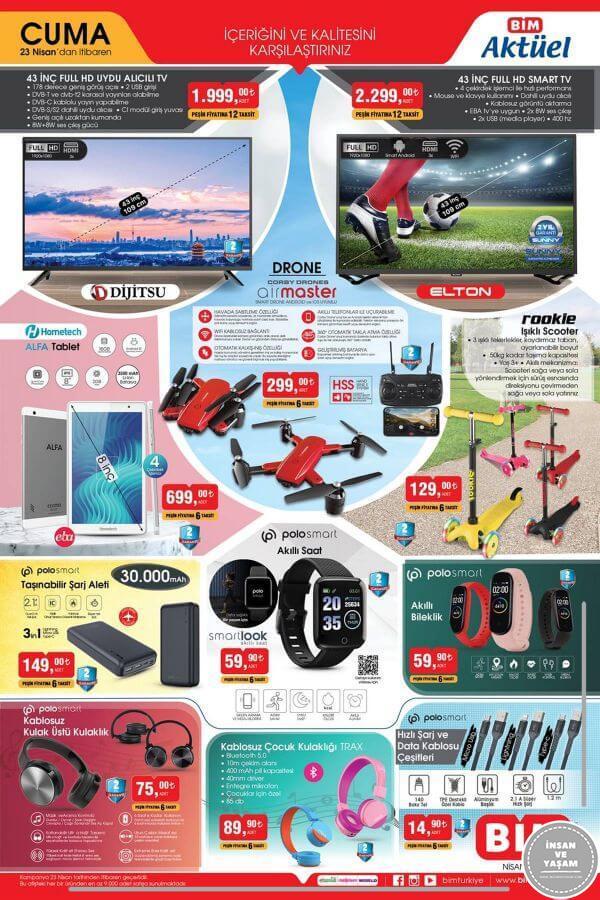 Bim 23 Nisan 2021 Aktüel Ürünler Kataloğu - 1.Sayfa