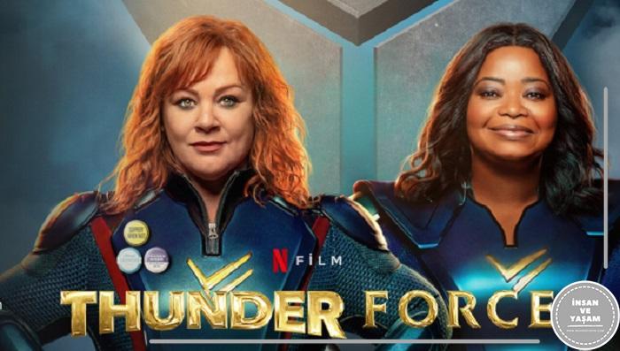 Thunder Force Filmi (2021) Konusu ve Oyuncuları