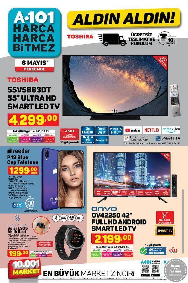 A101 6 Mayıs 2021 Aktüel Ürünler Kataloğu - 1.Sayfa