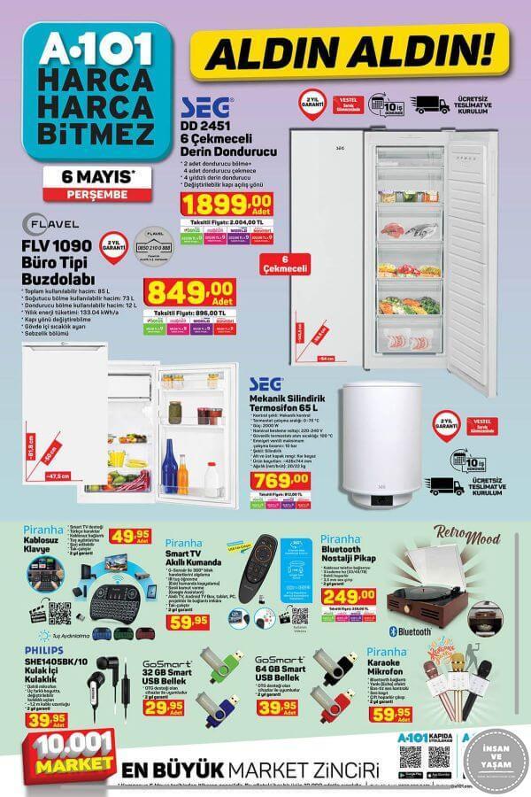 A101 6 Mayıs 2021 Aktüel Ürünler Kataloğu - 2.Sayfa